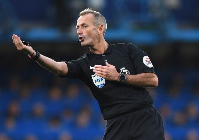 Martin Atkinson will officiate #Chelsea game V Manchester City this Saturday. #MCICHE #CFC