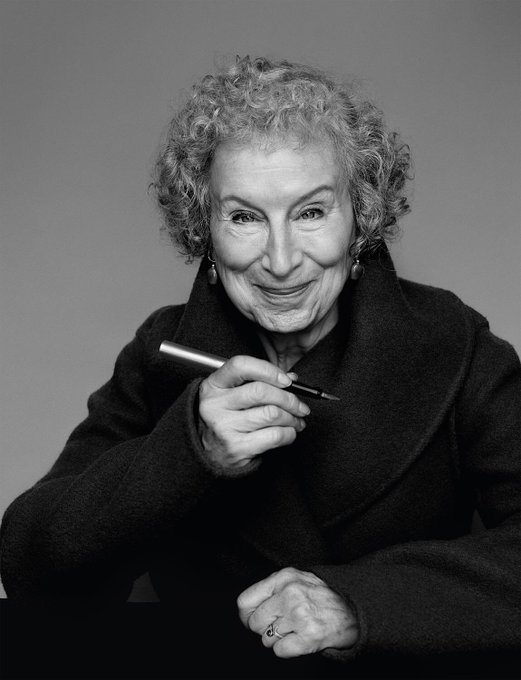 Margaret Atwood: an icon at 80, happy birthday.