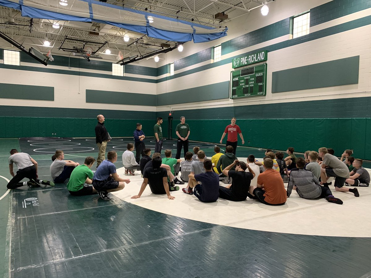 Day 1 in the books. Looking forward to another great year of PR Wrestling! #theseasonishere pic.twitter.com/BlwO1U0EnT
