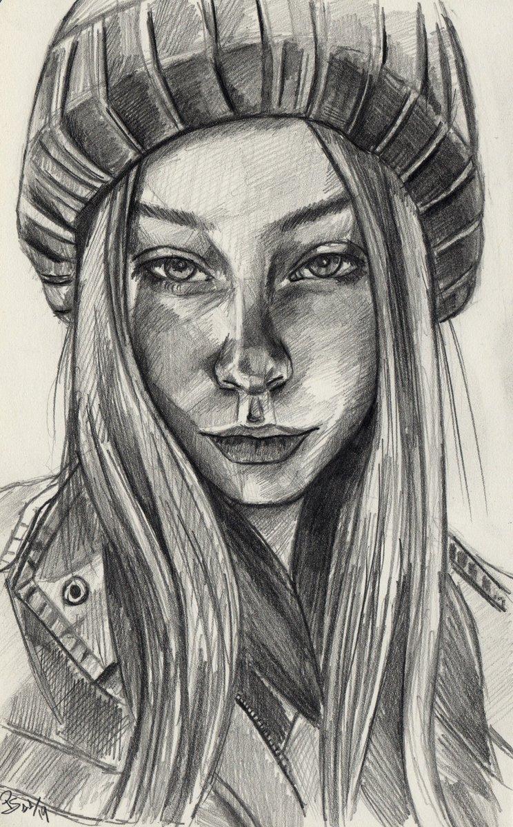 """Sam"", #graphite #pencil #portrait on #sketchbook inspired by  @sktchyapp #Sketchy #moleskine #art #handdrawn #handdrawnart #teamdli  #sktchyinspired #pencildrawing #graphitedrawing #artist #iloveart #drawsomethingshowcase"