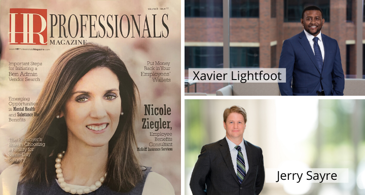 Make sure you check out the latest issue of @HRProfessionalsMagazine, featuring an article about the #TitleVII debate written by our own #laborandemployment attorneys Xavier Lightfoot and Jerry Sayre.  #workplacediscrimination #harassment #employmentlaw