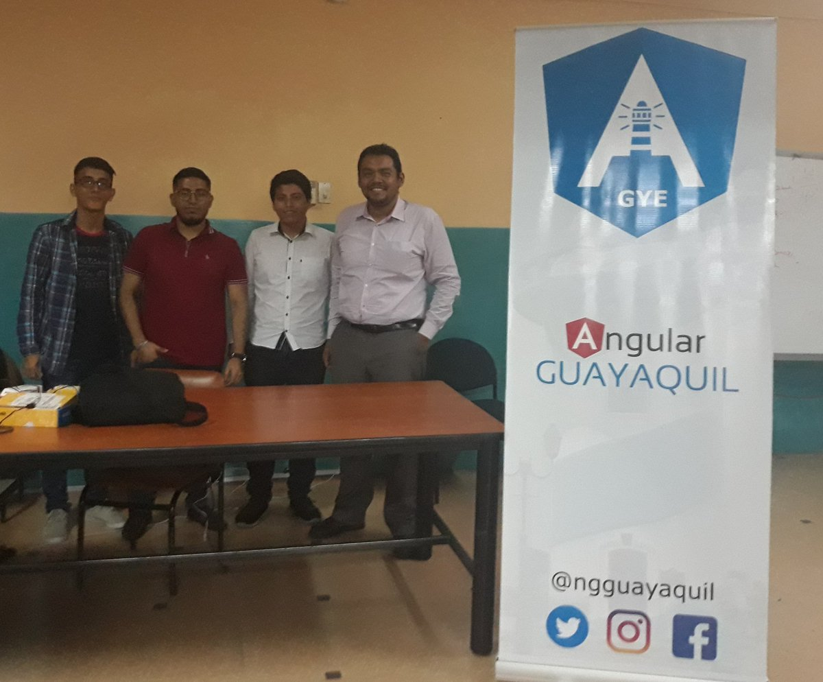 #ngguayaquil build is complete #ngGuayaquil  #angulardevelopers #webDevelopers @angular ...next<br>http://pic.twitter.com/J0qasCjm5Q