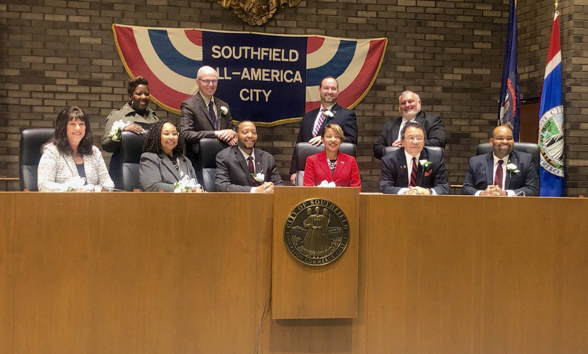 Congratulations to the newly elected members of the Southfield City Council!