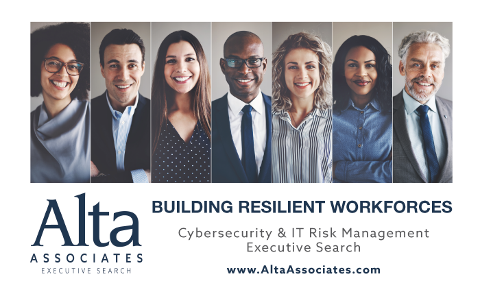 Looking to add #diversity to your team? Alta Associates has an extensive highly tailored network of candidates. Let us help you find your executive today. http://ow.ly/vCw330pTgqJ. #altaassociates #csuite #CISO #CIO #infosec #cybersecurity #Since1986
