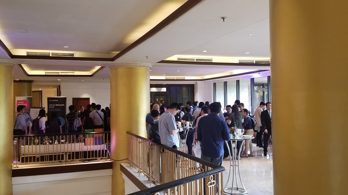 Luka Debeljak On Twitter It S Still An Hour Before Kicking Off The Saponazure Event In Manila But Registration Lines Already Long It Will Be An Exciting Day Azure Sap Innovation Embrace Https T Co Kiiqvfpdlv