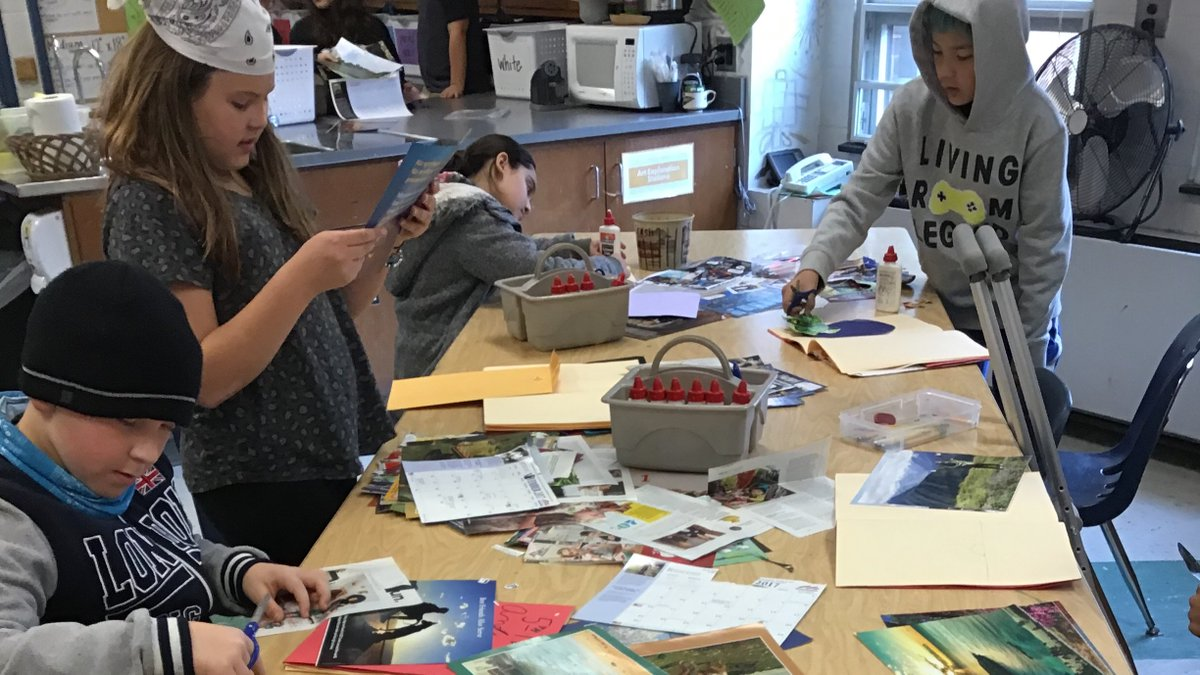 5th graders exploring photomontage. I wonder what they will create using the <a target='_blank' href='http://search.twitter.com/search?q=collagestation'><a target='_blank' href='https://twitter.com/hashtag/collagestation?src=hash'>#collagestation</a></a> I can't wait to see their creative thinking! <a target='_blank' href='http://twitter.com/APSArts'>@APSArts</a> <a target='_blank' href='http://twitter.com/OakridgeSpecial'>@OakridgeSpecial</a> <a target='_blank' href='http://search.twitter.com/search?q=choiceart'><a target='_blank' href='https://twitter.com/hashtag/choiceart?src=hash'>#choiceart</a></a> <a target='_blank' href='https://t.co/K3RdaVszJv'>https://t.co/K3RdaVszJv</a>