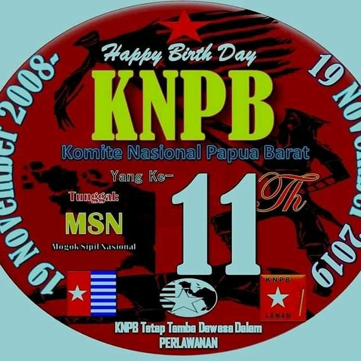 RT @Don27204488: Selamat hari HUT KNPB yg ke-11 https://t.co/RGRREsH6yI