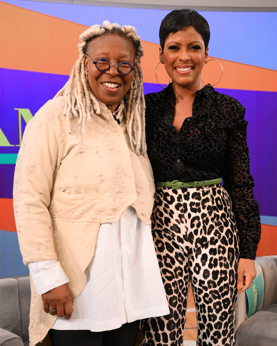 When the realest @whoopigoldberg stops by to say hi. 🙌🏾 Thank you Whoopi love and hugs @theviewabc