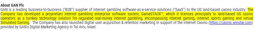 GAN plc #GANShare Price 148p (pre-open)GAN Reports October 2019 Internet Gambling Growth For Pennsylvania. Internet Gambling Win Increased 8.8% from SeptemberShaken out of the stock on the recent slide. Now back above my stop-loss point. Gritted teeth, what to do next?