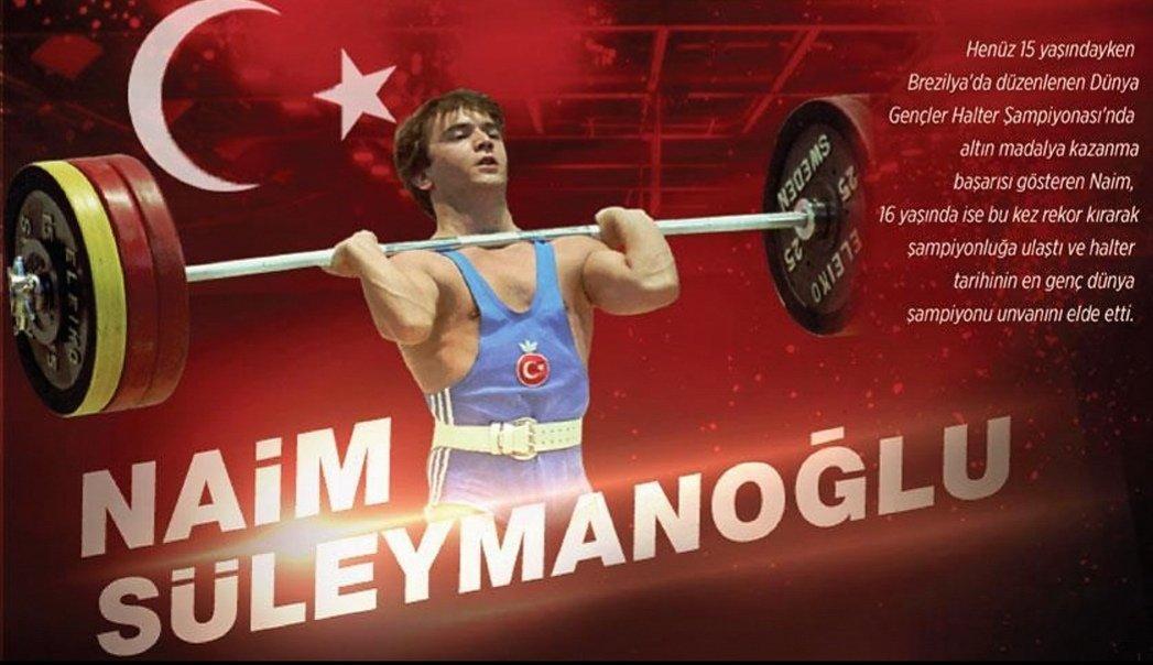 Dünya ve Avrupa şampiyonluğu ile 46 rekoru olan milli haltercimiz Naim Süleymanoğlu nu vefatının ikinci yılında rahmetle anıyorum. #naimsueleymanoğlu #halter #SALI #instagood #sport #Turkey #yular #İstanbul #rekor #record #word #Champion