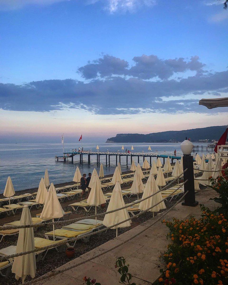The most beautiful sunset… 🌅•#pgshotels #pgs #turkey #thailand #pgskirisresort #pgsroseresidencebeach #pgsroseresort #pgscasadelsol #sunset #mediterranean