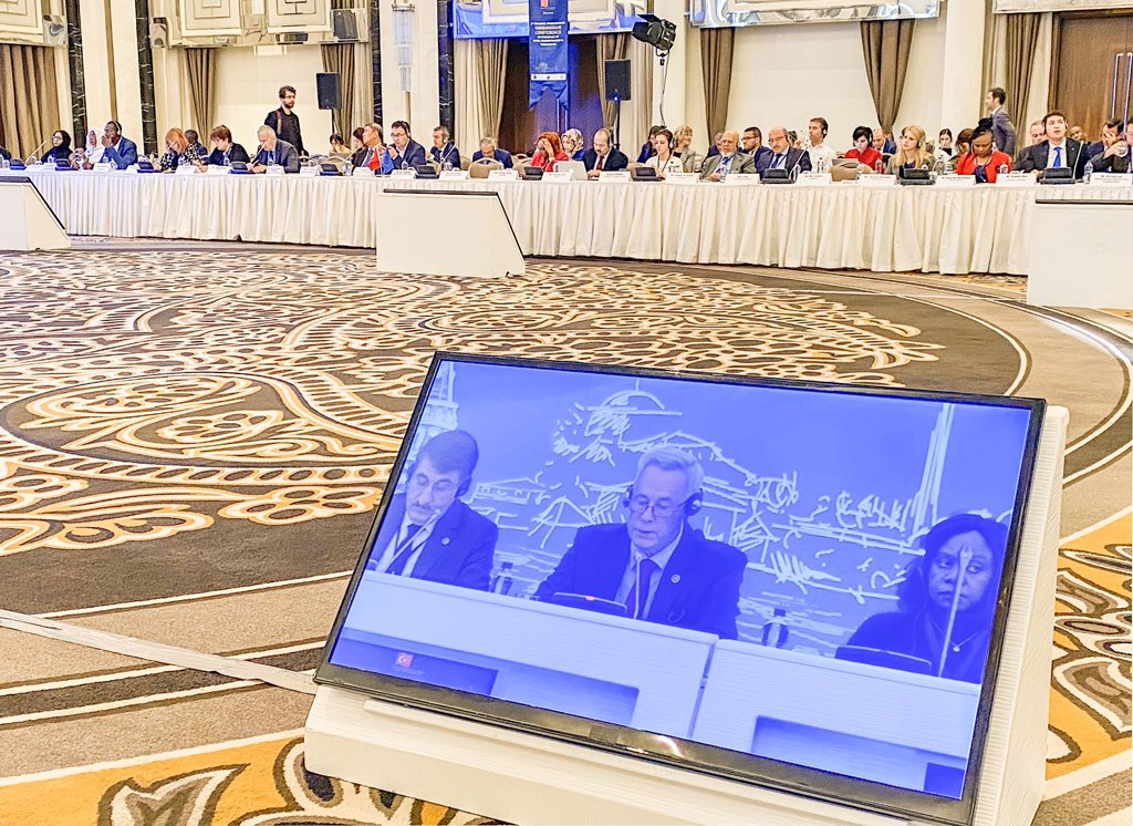 At the 2nd Istanbul Int.Ombuds.Conf. in #Turkey Normantas noted that the principles of good governance are directly linked to a full realisation of #humanrights through accountability, transparency and the rule of law @ennhri @LithuaniaMFA @the_ioi @donatas_butkus @CommissionerHR