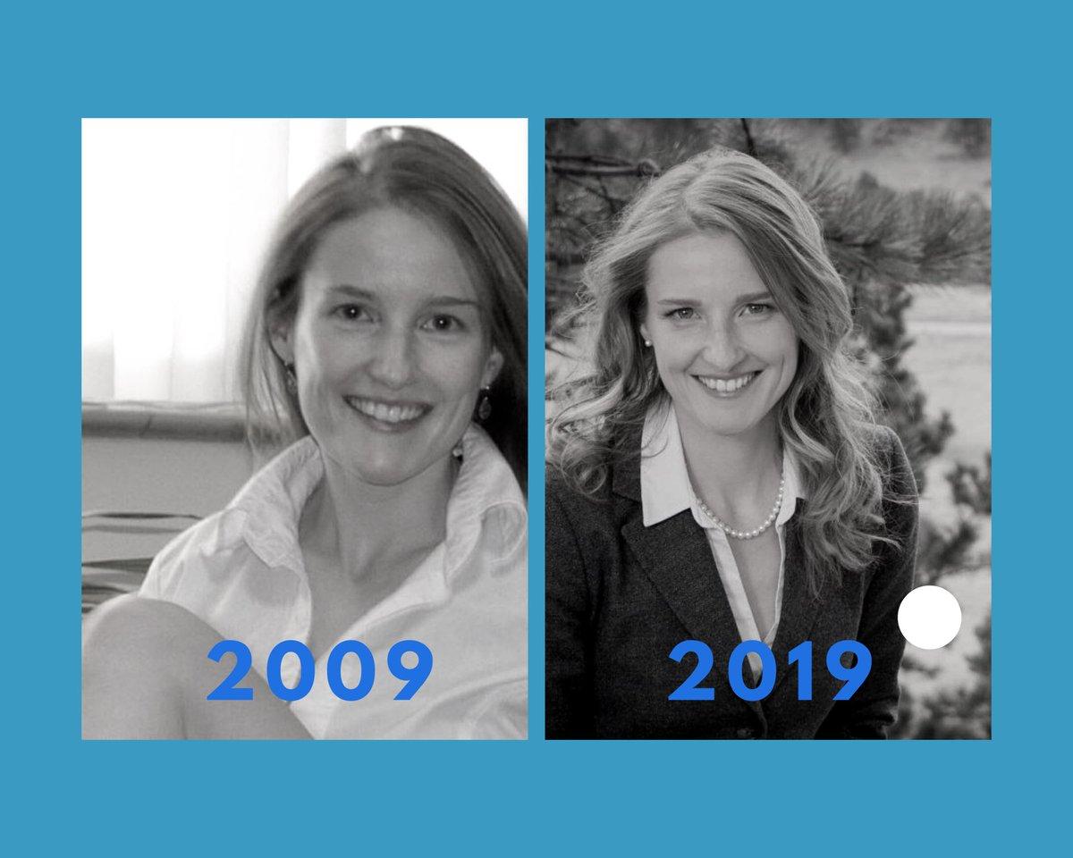 2009: Finished graduate school  2019: Teaching neuroscience at CU & running for U.S. Senate in Colorado! #2009vs2019<br>http://pic.twitter.com/TWdTpjc99o