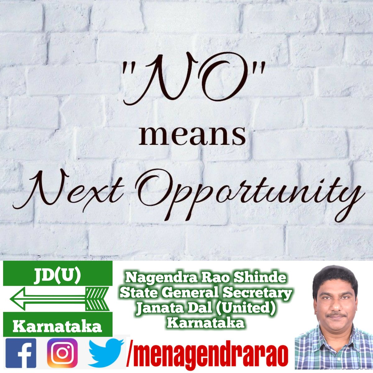 #TuesdayThoughts #JDU #Karnataka @gsecretaryjdu @NitishKumar @PrashantKishor @afaquejdu @RCP_Singh @SanjayJhaBihar @JDU_India @Jduonline @KCTyagiJDU @sanjaykumarjdu https://t.co/t62vn0yLsg