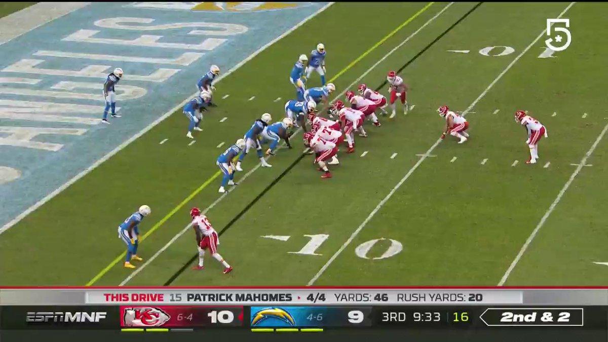 Vamos com a @nflmx desta vez para mostrar o TD...  #NFL100 #NFLnaESPN #ChiefsKingdom #BoltUp