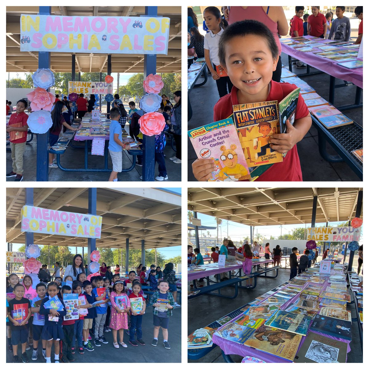 3,500 books were distributed to students at @Revere_School as part of the Sophia Book Project. To date the project has distributed over 25,000 books at 5 different @AnaheimElem schools!