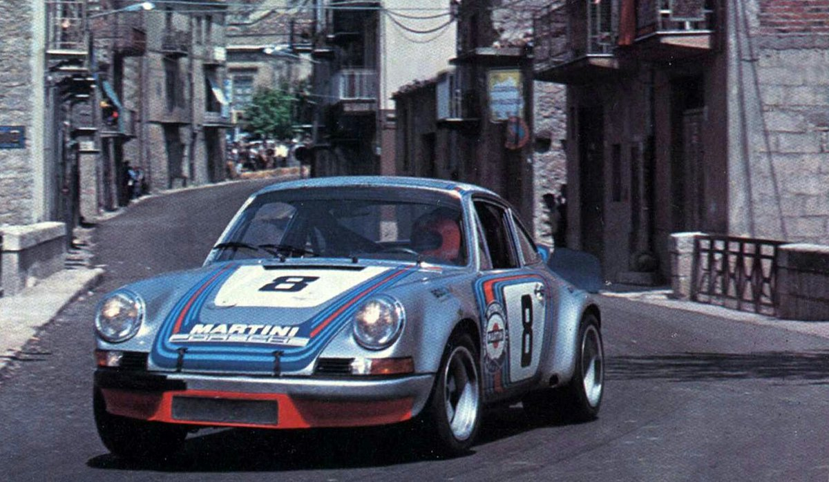 "RSF Motorsport ® auf Twitter: ""Herbert Müller / @GvLL1 Gijs van Lennep,  Porsche 911 Carrera RSR. Targa Florio, 1973. #Endurance #TargaFlorio  #Muller #vanLennep #Porsche… https://t.co/OOSztvdBtS"""