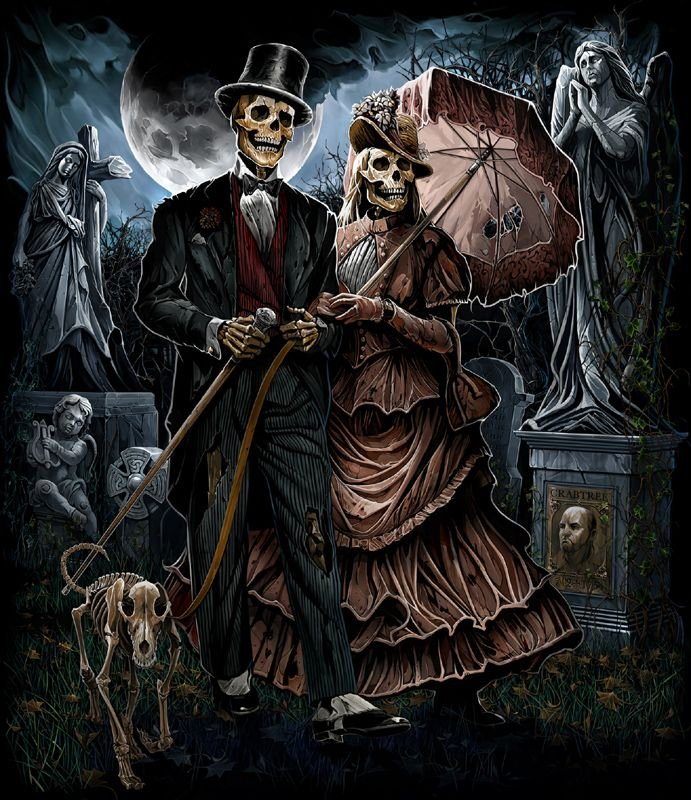 Goodnight Horror Fam may your dreams be spectacularly spooktacular!  Abrar Ajmal - artist <br>http://pic.twitter.com/ON7KLOPOdt