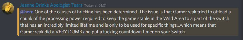 SMALL INDIE DEVELOPER. PLEASE UNDERSTAND. Legit tho, protect your investments, people. Wait for the patch or, knowing game freak, the updated version. #SwordAndShield #gamefreaklied