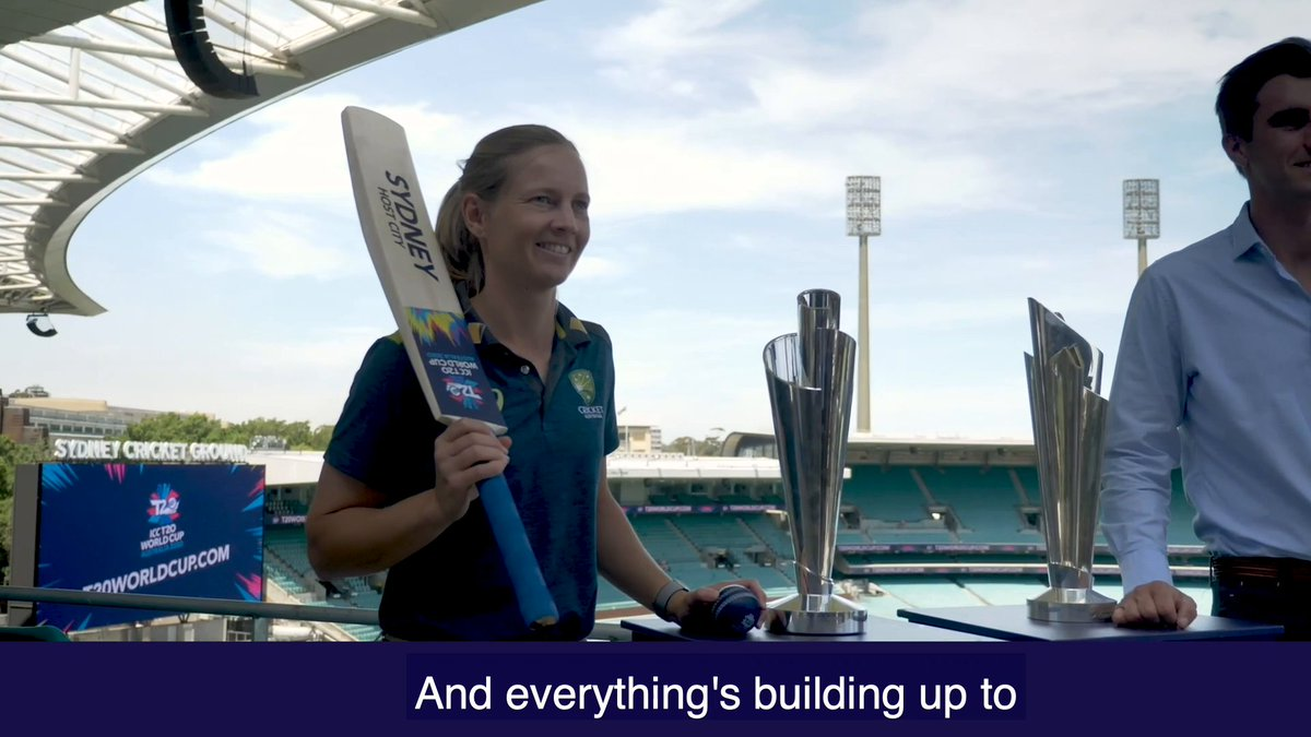 There's only one game that Meg Lanning has her eye on less than a 100 days out from the Women's #T20WorldCup 🇮🇳👀