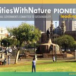 Image for the Tweet beginning: #CitiesWithNature #LeadingTheWay for #nature in
