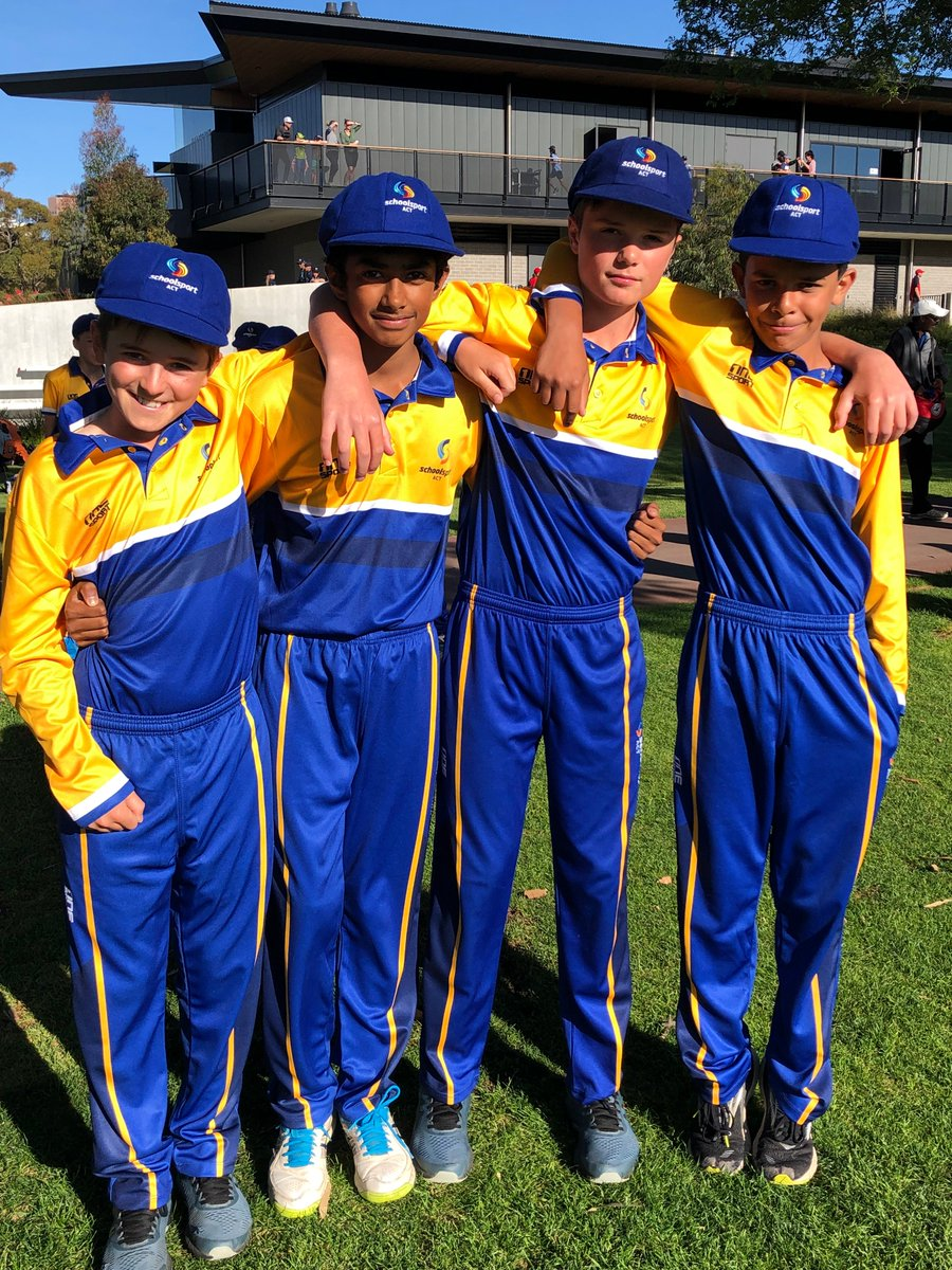 On Sunday, four CGS students attended the opening ceremony of the Australian School Sport Cricket tournament. We wish Ted (Captain), Michael, Adithya, and Hugh all the best this week.