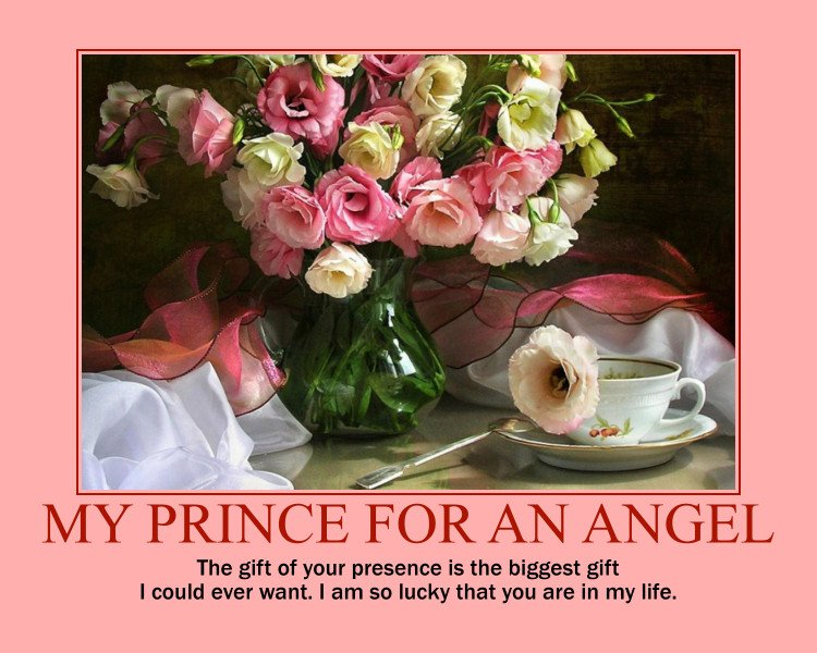 ❤ The gift of your presence is the biggest gift I could ever want. I am so lucky that you are in my life. #DreamComeTrueForAnAngel #DreamComeTrueForAGirlLikeYou #FindingHerSunshine #DarlingYoureMyWorld #ADayForLove #GiftOfRightNow #SmileWithMe #TalkAboutHerTomorrow #SheLikesYou