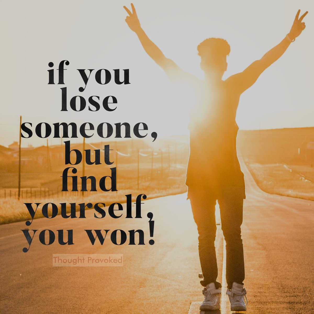 If you lose someone, but find yourself, you won!  #TuesdayThoughts #IQRTG #TuesdayMotivation #quotes #TuesdayMorning #relationships<br>http://pic.twitter.com/SvV0VarYTW