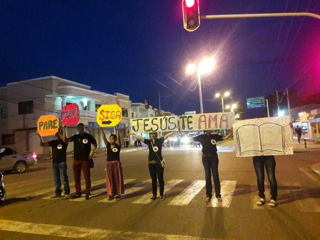 evangelizar en la calle