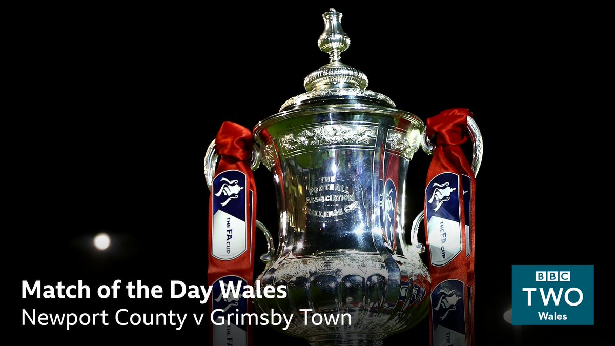 ⚽️ #MOTDWales has live coverage of the FA Cup first round replay between @NewportCounty and @officialgtfc Presented by @catheledd 📺 Tomorrow from 7.30pm on @BBCTwo Wales