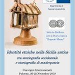 Image for the Tweet beginning: Convegno internazionale #UniPa sul tema
