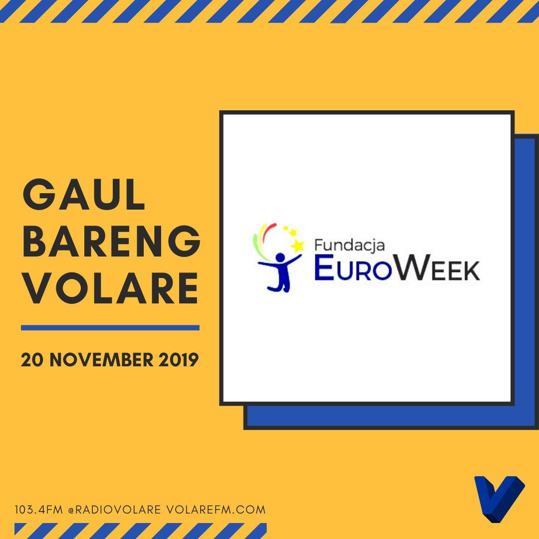 Gaul Bareng Volare: Fundacja Euro Week