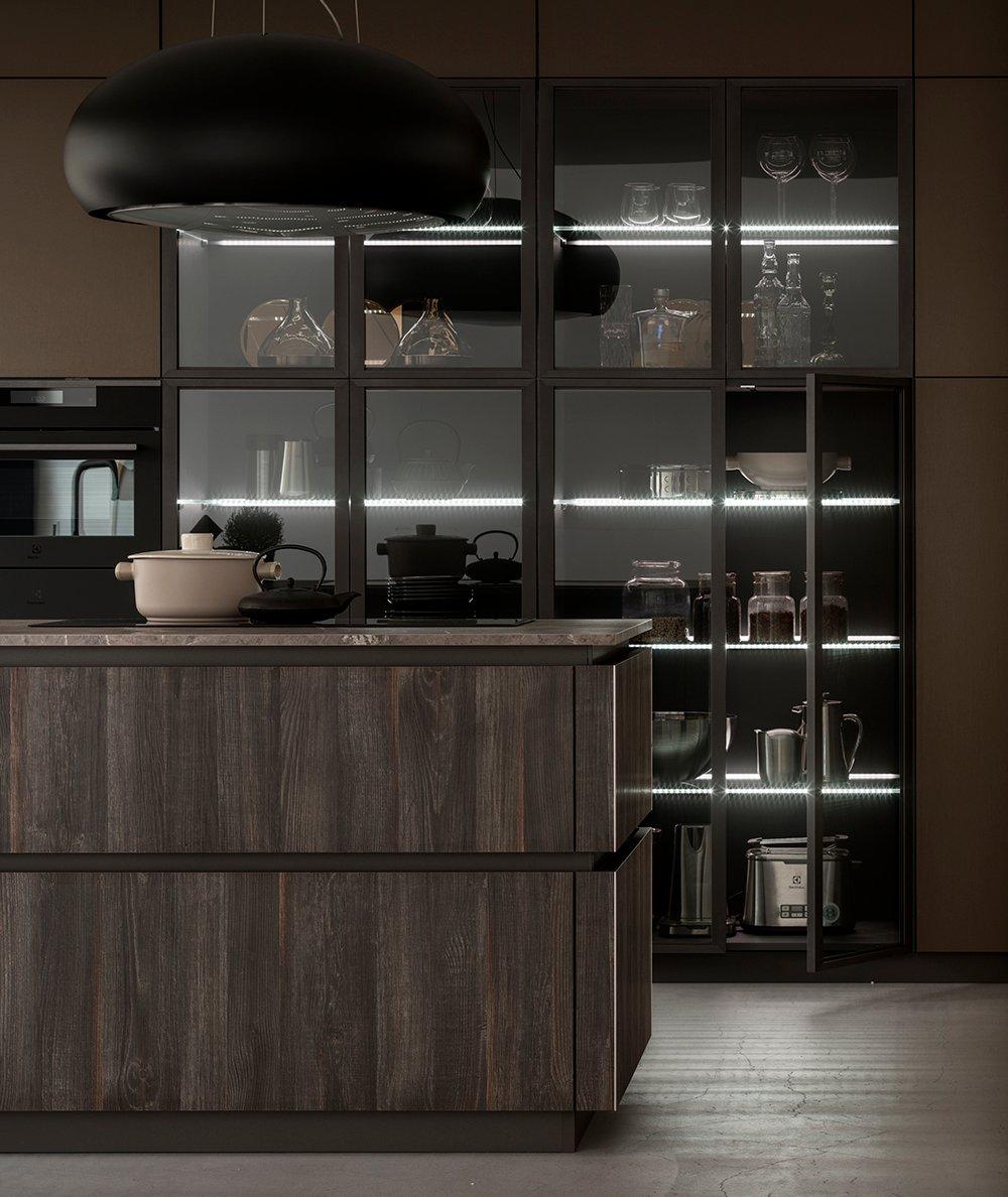 "Ante Vetro Cucina arrex le cucine on twitter: ""la cucina ""effetto living"