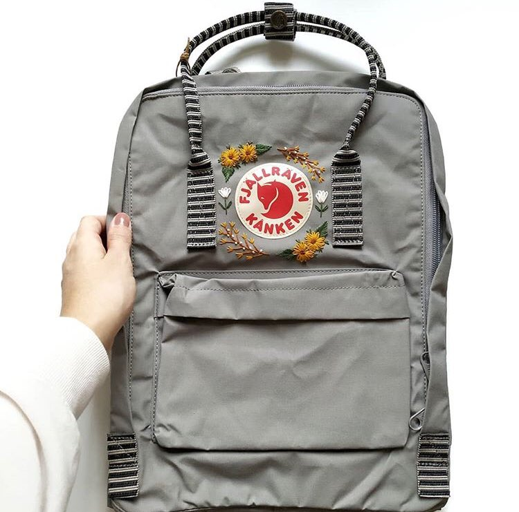 Some new #kanken limited edition embroidered bags coming your way this week so keep posted #mykankenbag #kankenembroidery shipped worldwide http://www.mykankenbag.com