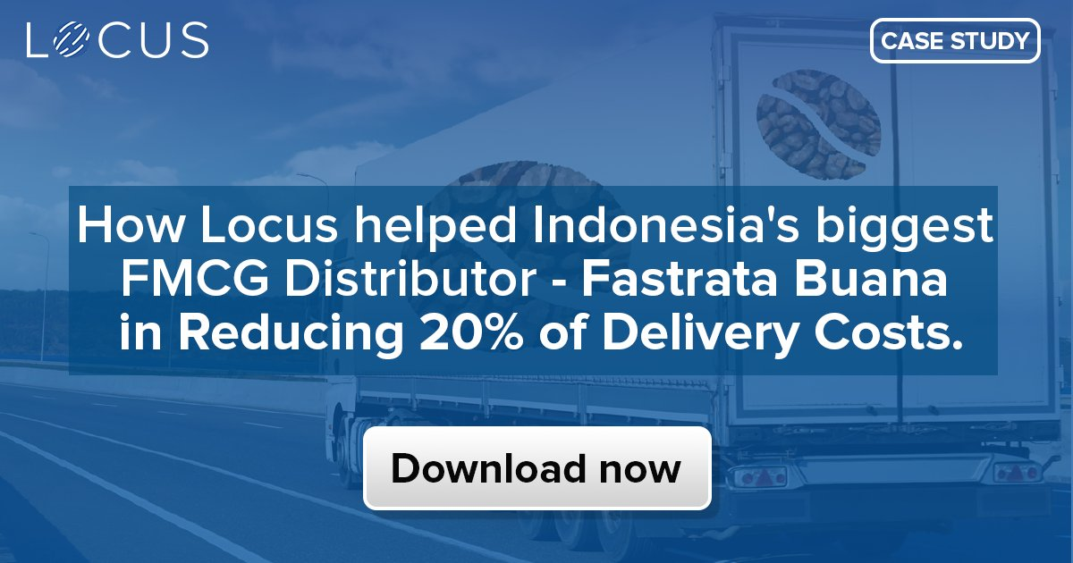 test Twitter Media - Download our latest case study to know Locus helped one of Indonesia's biggest FMCG distributor! #casestudy #Indonesia #FMCG #SoutheastAsia #locus #Insights #insights2019 #downloadnow #Jakarta #distribution #Logistics #ArtificialIntelligence #SupplyChain #3pl #TuesdayThoughts https://t.co/9DsjBCBqoA