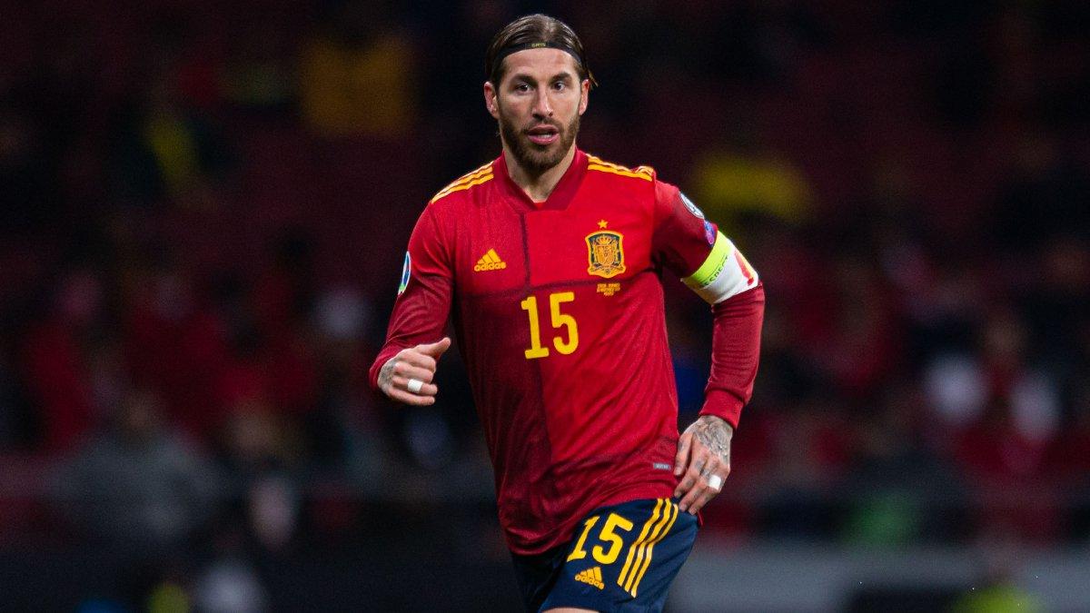 📈🇪🇸 ¡@SergioRamos jugó su partido 170 con España y se convirtió en el séptimo jugador de la historia con más encuentros de selecciones! ¡GRANDE CAPITÁN! 👏 #HalaMadrid