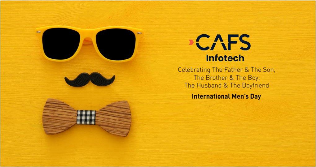 Happy International Men's Day  #mensday #cafs #cafsinfotech   #mobileappdevelopment #webapplicationdevelopment #digitalmarketing #IoT #hrms #webdesigning #dedicatedresources #toursandtravels #billingsoftware #voicetracking<br>http://pic.twitter.com/djJoLh4lj5