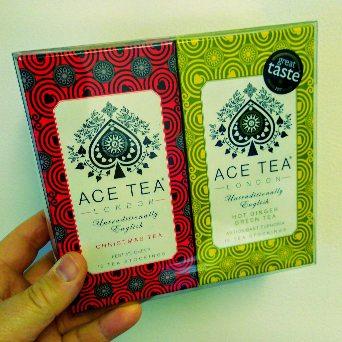 It's #freezing! Warm up & follow #AceTeaLondon tag a friend & RT for a chance to #win a #delicious Christmas & Ginger Green Tea Duo Pack. #Competition #prize  Ends: 24/11/19  #InternationalMensDay #teahour #healthy  #Christmas2019<br>http://pic.twitter.com/Lpx28OtMMf