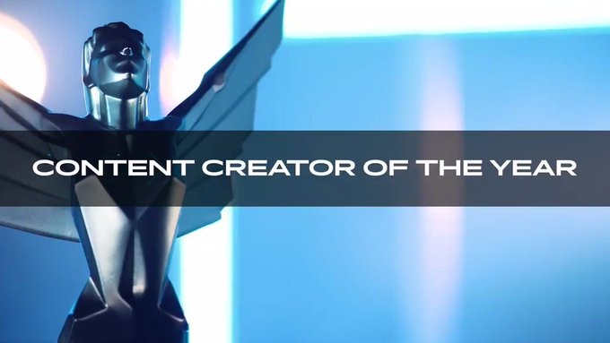 nominees for Content Creator of the Year