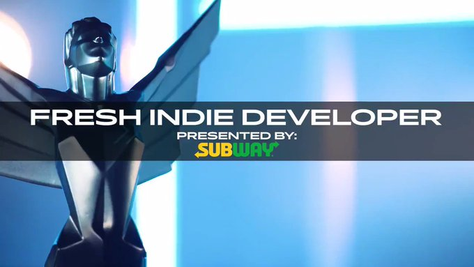 nominees for Fresh Indie Developer