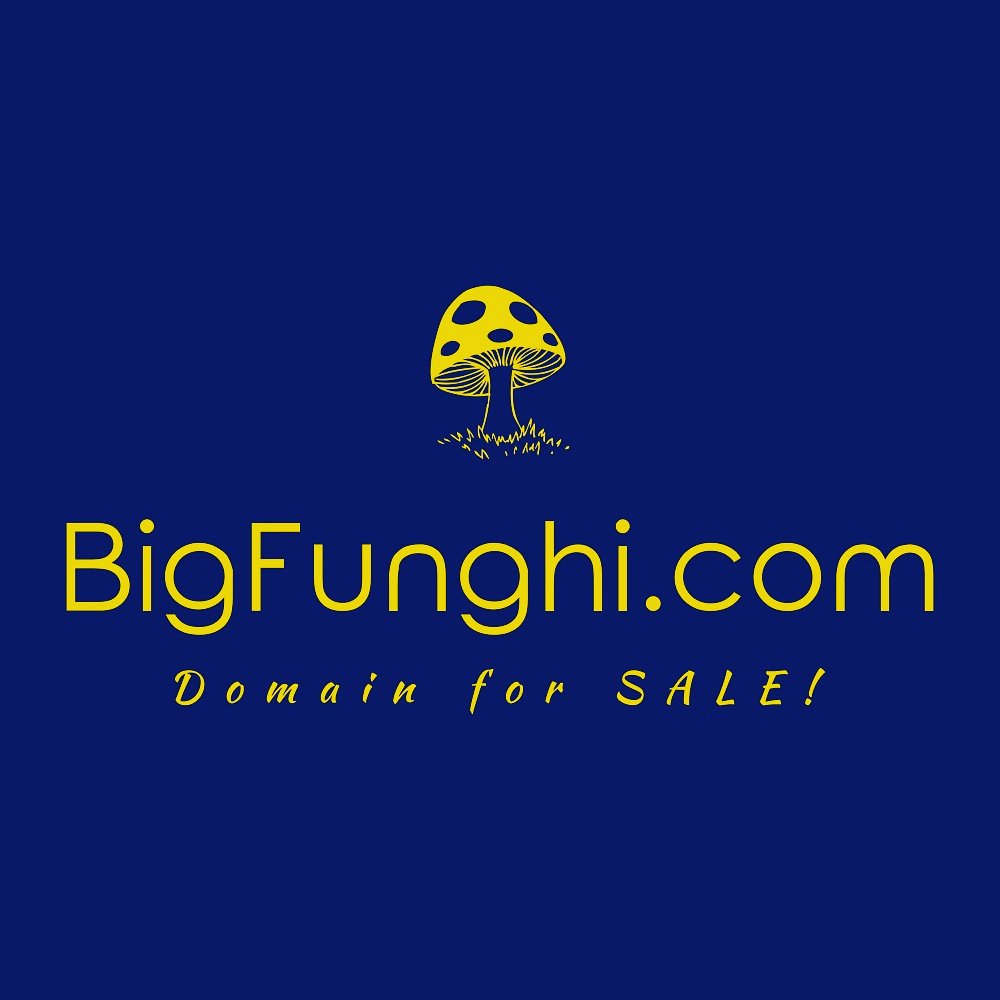 http://BigFunghi.com  Premium domain name for sale!#funghi #fungi #fungus #mushroom #psilocybin #psilocybe #entrepreneur #startup #business #investing #brandname #branding #marketing #domainname #domainnameforsale #tech #technology #technews #depressiontreatment #Anxiety