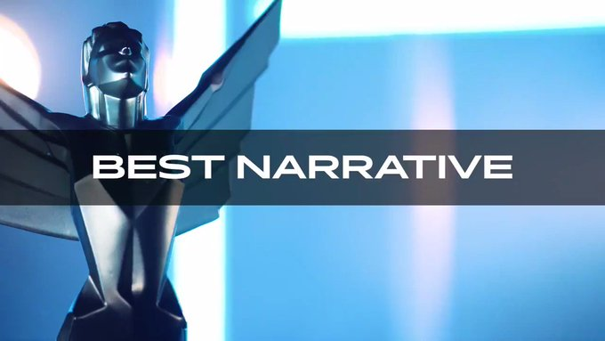 Best Narrative nominees for #TheGameAwards on December 12