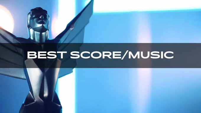 nominated for Best Score/Music @TheGameAwards on December 12