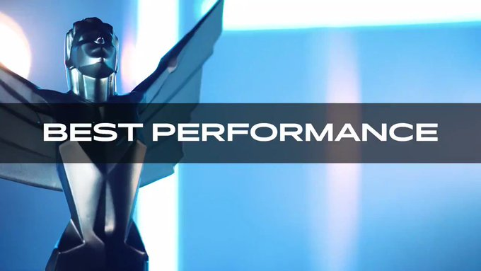 nominees for Best Performance at #TheGameAwards