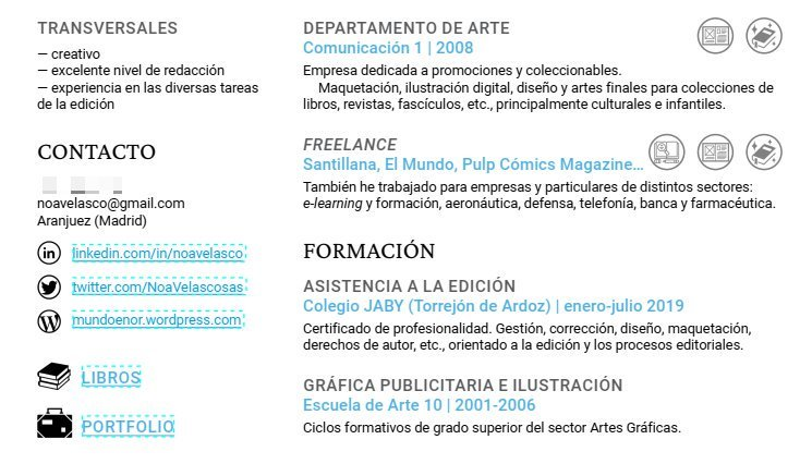 Noa Velasco Busco Trabajo En Cosas De Libros On Twitter