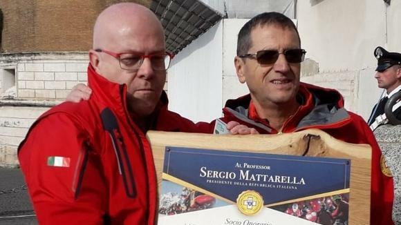 Il Capo dello Stato al Soccorso alpino: «Siete il...