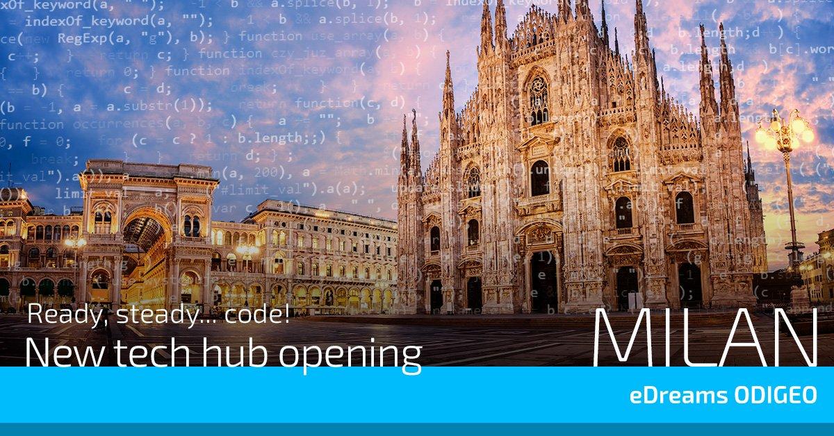 Milano, are you ready? Come and meet our dream IT team next week🎉  @ortega_nacho  @adellibovi  @domi_ulldecona  @ValentinGut   https://t.co/vILQ3ye56w https://t.co/uXeKo0ZcMl #milanotech #milanodigital #milano https://t.co/PeiyhXdLDQ