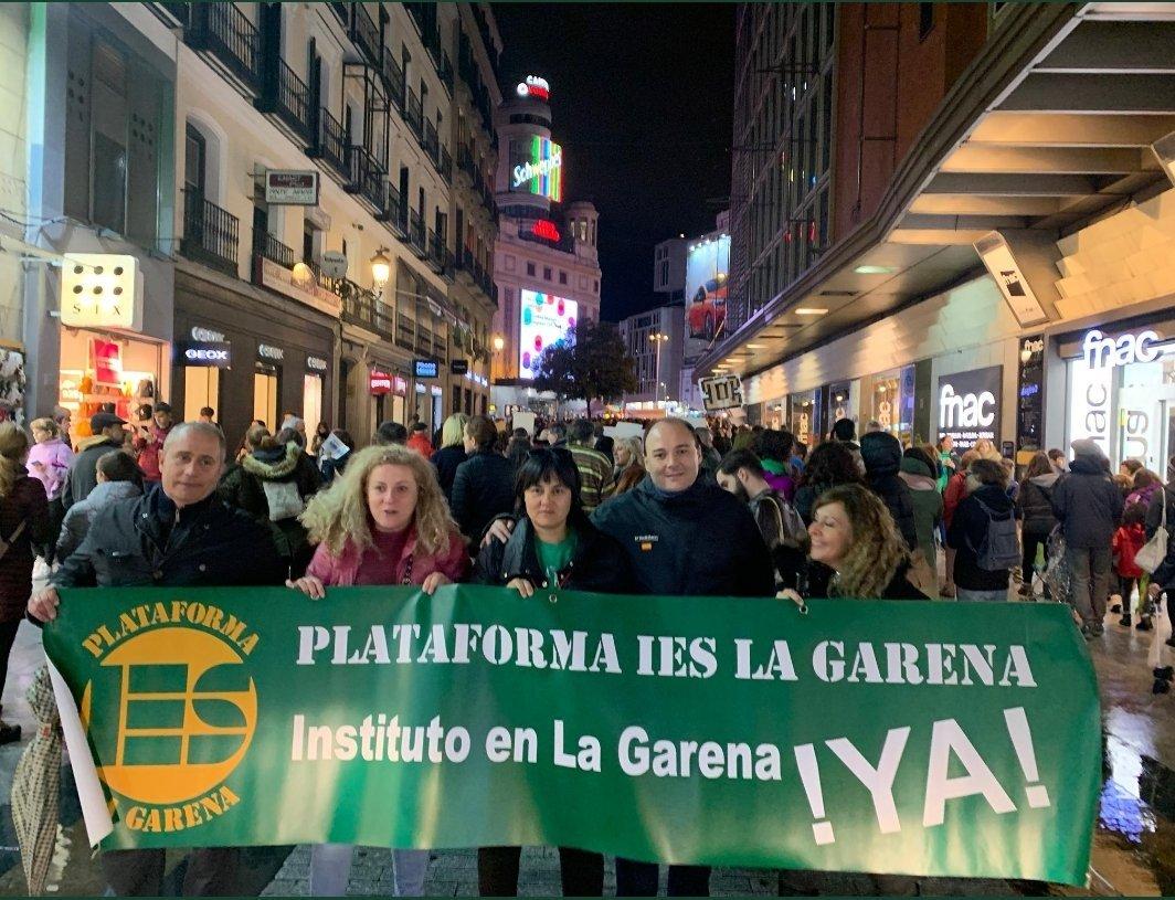 Foto cedida por Plataforma Instituto La Garena