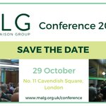 Image for the Tweet beginning: SAVE THE DATE: MALG Conference