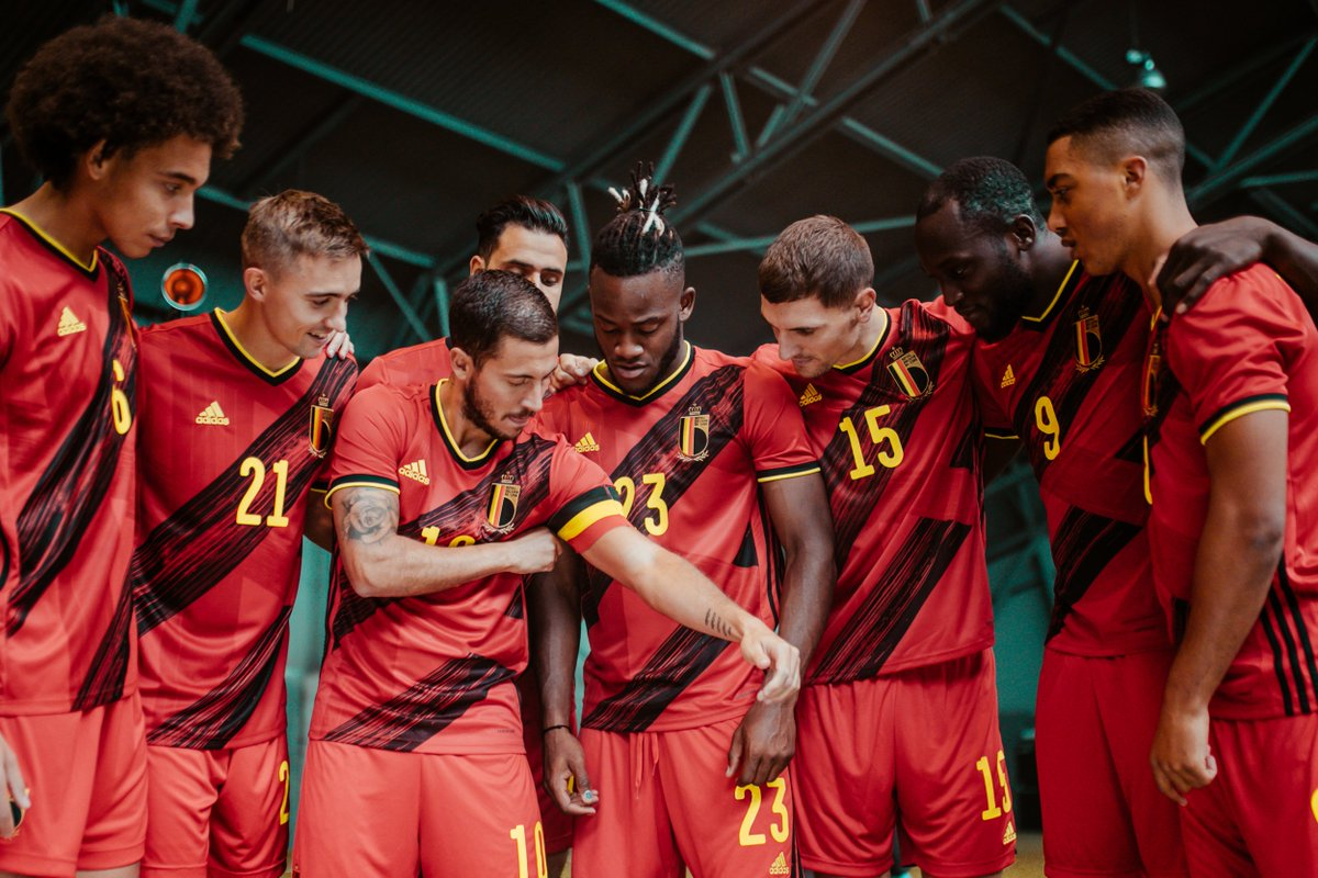 We'll play in our brand new @adidasfootball shirt against Cyprus 😍 Let's do this! #BELCYP #COMEONBELGIUM 🇧🇪